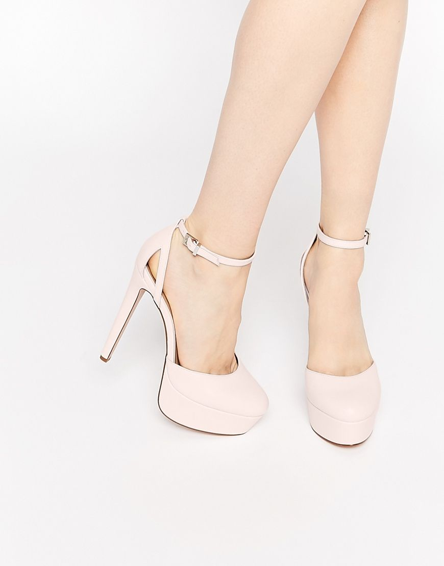 17634cb8760839 Bild 1 von ASOS POUT – Schuhe mit Plateausohle