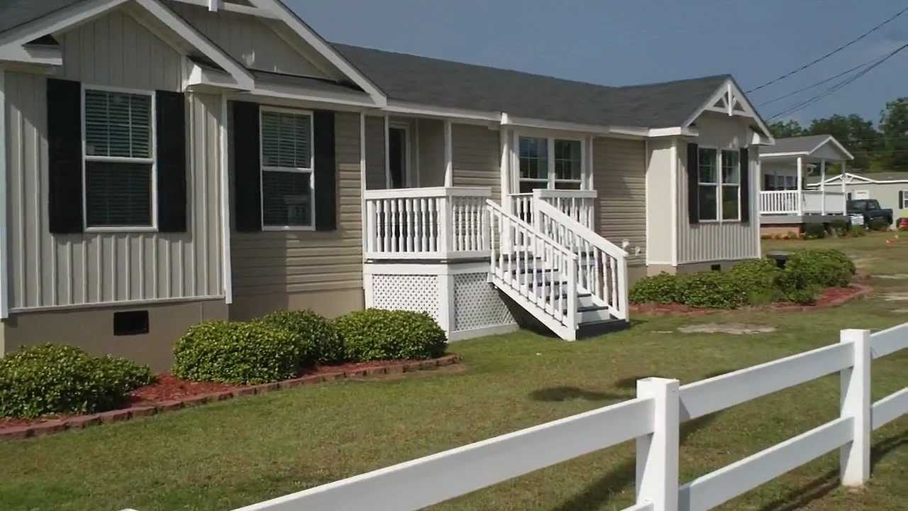 This Is A Beautiful Double Wide Mobile Home At Clayton Homes In Florence SC For More Information Call 843