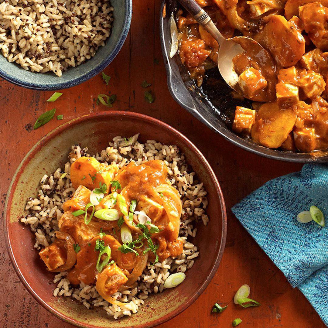 Tofu Tikka Masala Recipe Sambal Chicken Slow Cooked Lamb