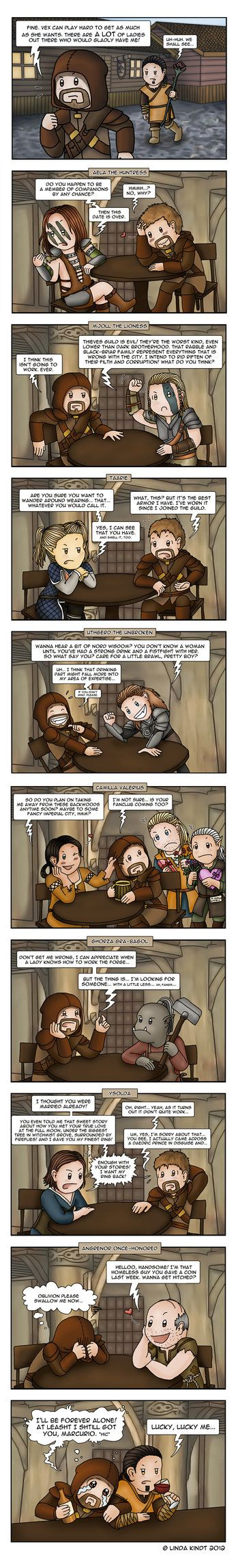 Dating in Skyrim - by Isriana | Skyrim - My Obsession ...