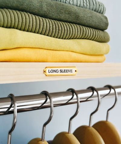 11 Tips For Organizing Your Closet Like A Pro: Http://www.