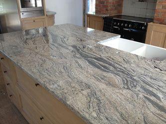 Bianco Piracema Seven Seas Bespoke Kitchen Worktops