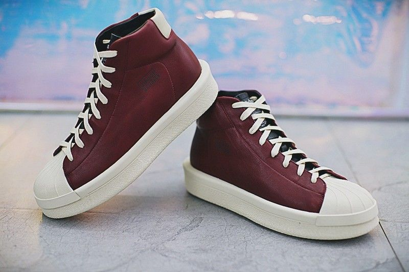 528f9d92d23 buy offer rick owens x adidas mastodon pro model ii leather unisex sneakers  milk black m22451 price