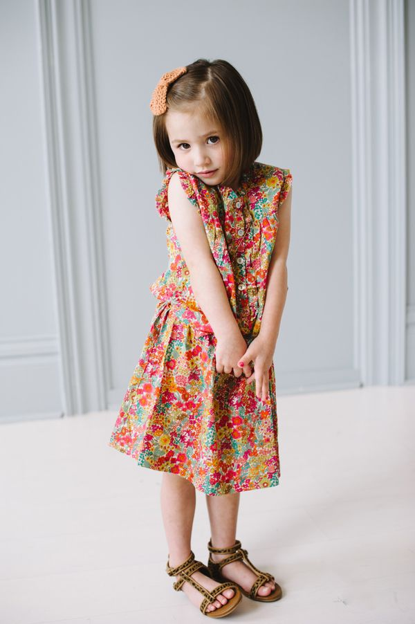 Little girl spring style, Peek Kids, Zara, our happiness tour