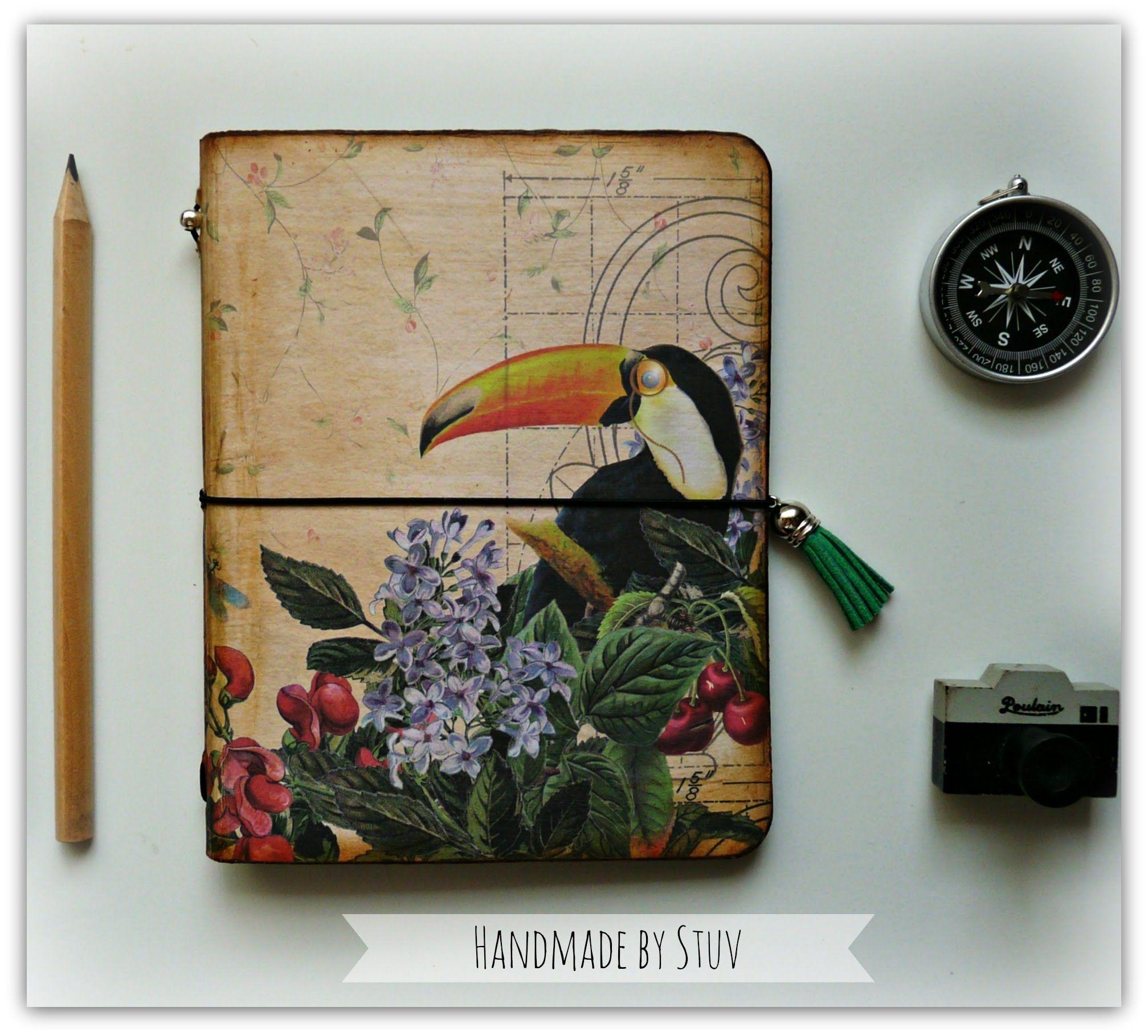 DIY: Libreta Vintage estilo MIDORI (María Stuv)