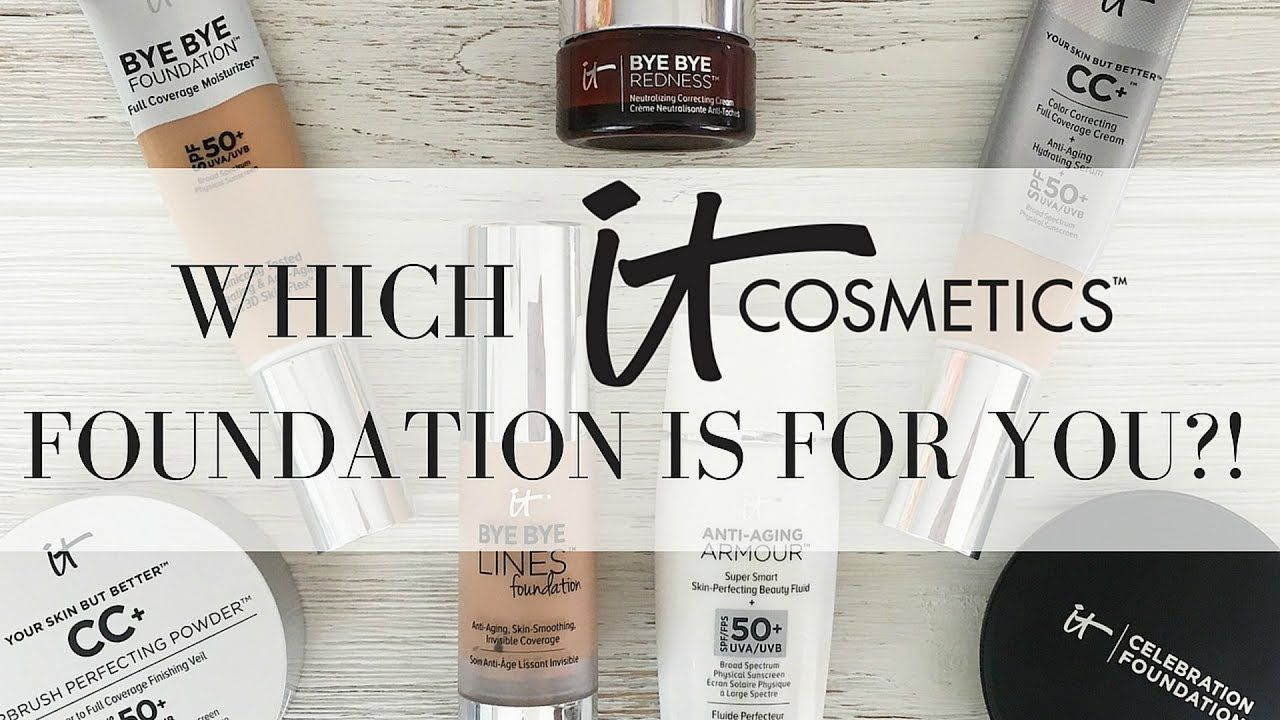IT COSMETICS FOUNDATION REVIEW AND COMPARISON Which is