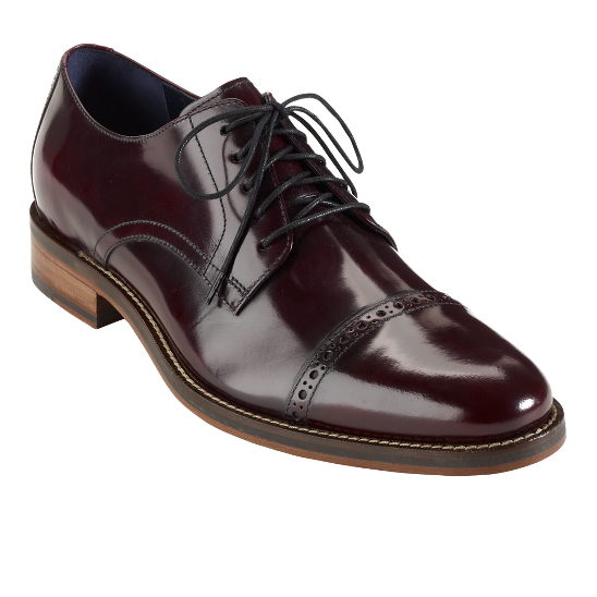 Cole Haan Air Madison Cap-Toe Oxford in Oxblood
