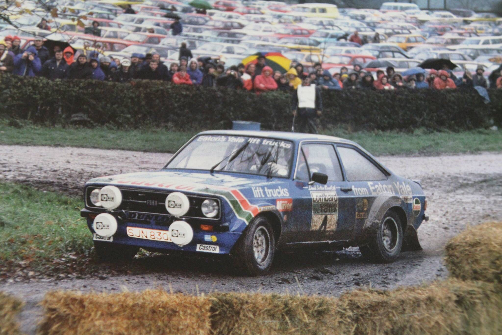 Ari vatanen david richards ari pinterest rally car ford and cars