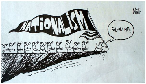 Nationalism is the belief that your country is better than all of ...