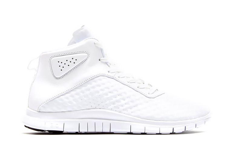 """Picture of Nike Free Hypervenom Mid """"Triple White"""""""