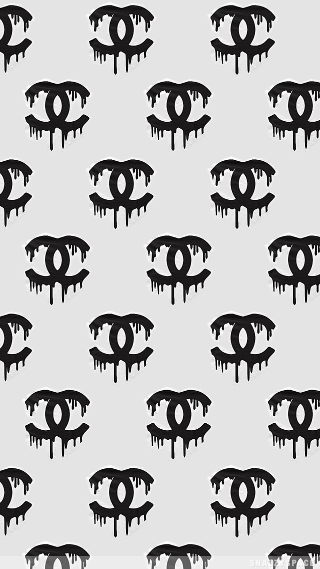 Chanel Fashion Logo Pattern HD Wallpapers for iPhone is a