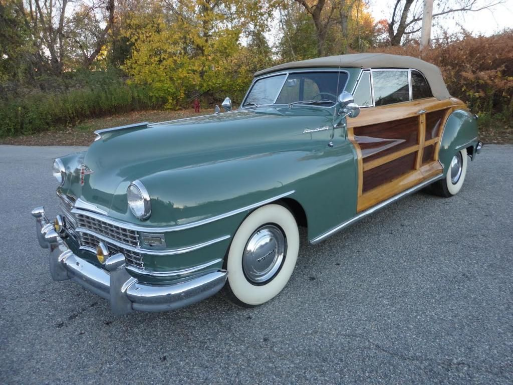 1948 Chrysler Town & Country Convertible | classic cars & trucks ...