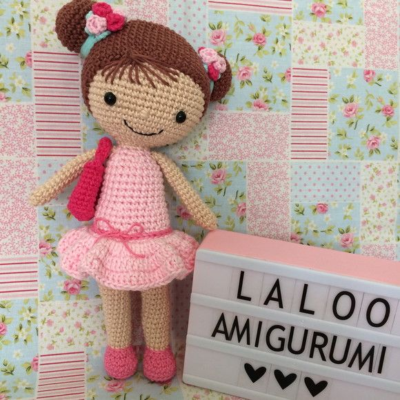 Boneca amigurumi/ boneca crochê no Elo7 | Novelo de ideias Ateliê ... | 580x580