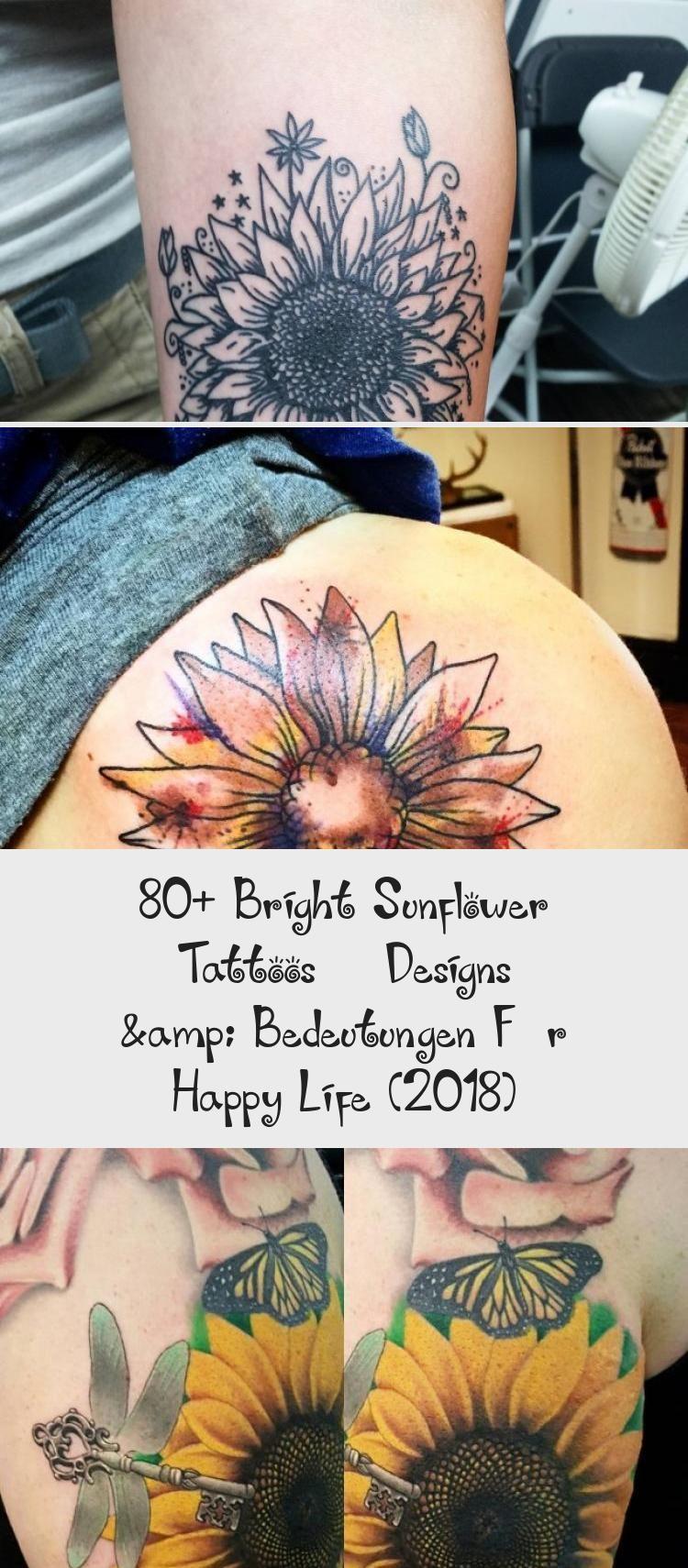Photo of 80+ Bright Sunflower Tattoos – Designs & Bedeutungen Für Happy Life (2018) – TATTOO