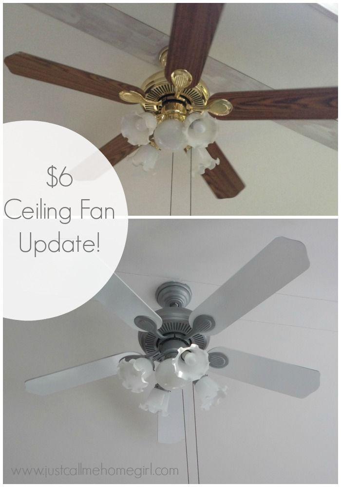 Paint Ceiling Fan : Spray painting ceiling fan blades integralbook