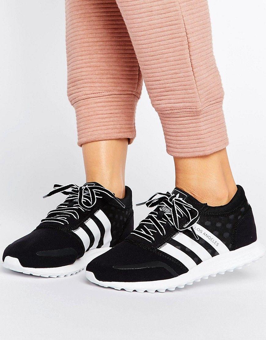 new products db535 5e397 Haz clic para ver los detalles. Envíos gratis a toda España. Zapatillas de  rendimiento Los Angeles de Adidas  Zapatillas de deporte de Adidas, ...