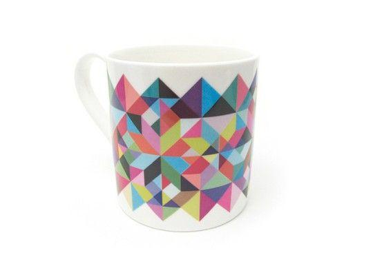 Tutti Frutti Mug (£9.95) #mug #geometric #colour