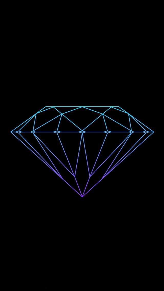 Iphone 5 Wallpapers Photo Diamond Wallpaper Geometric Diamond Tattoos