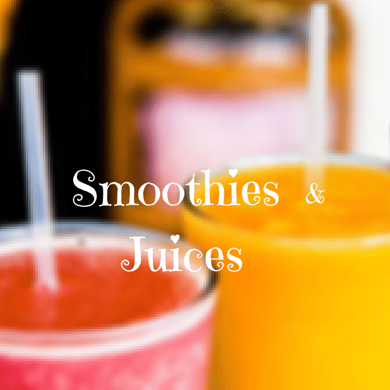 Smoothies  Juices &