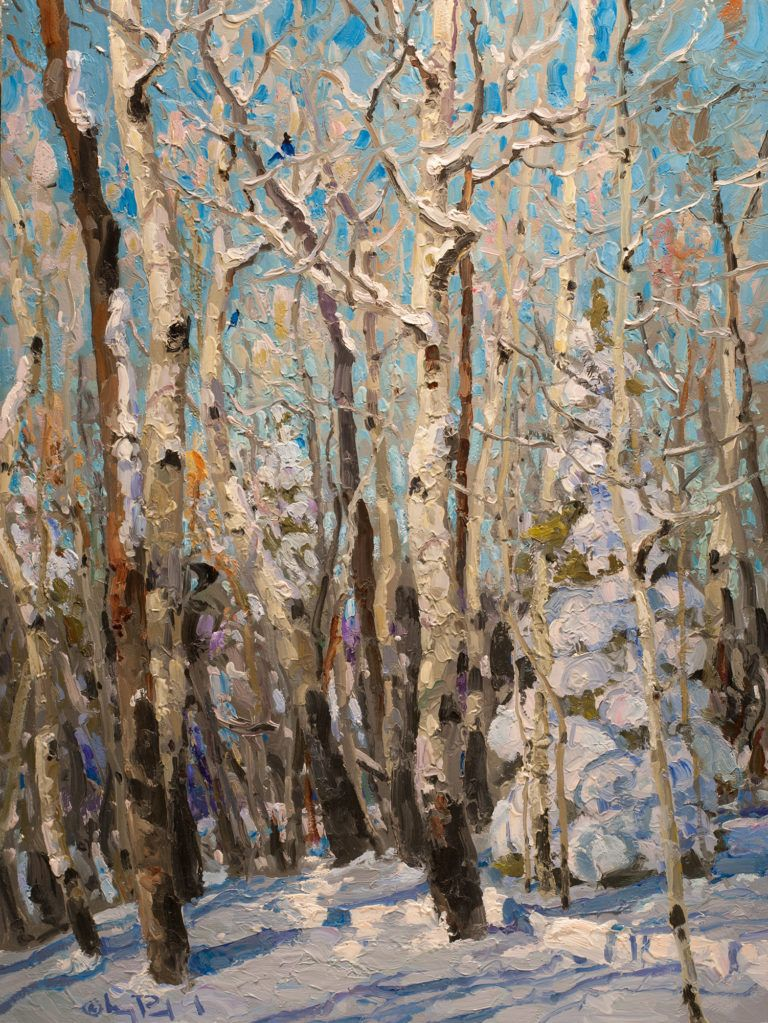 Impressionist Winter Landscape Paintings In 2019 Painting