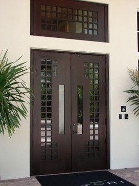 Modern Designer External Door Vertical Home Garden Modern Entrance Door Contemporary Front Doors Exterior Doors