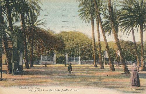 Alger(jardin d'essais)