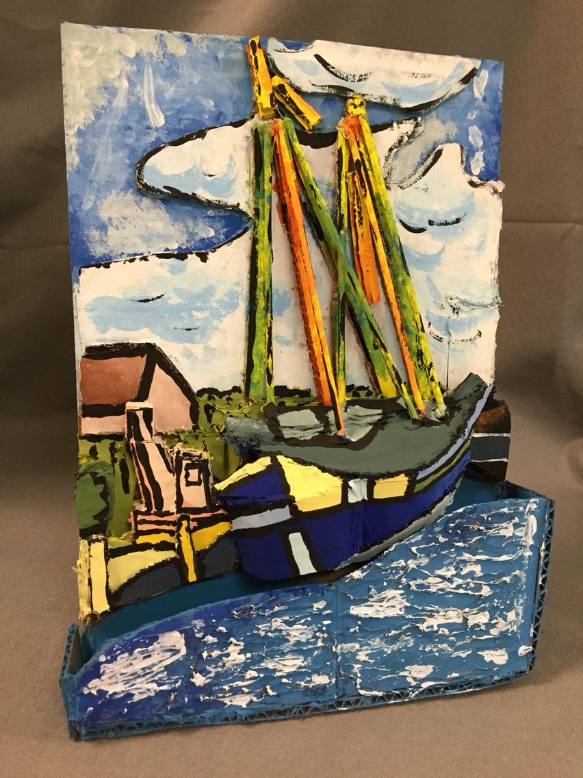 3d famous paintings sculpture 1 high school art