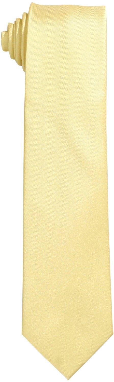 48ccfa2af375 Chetan's Tie Michael Kors Men's Slim Sapphire Solid Tie, Yellow ...