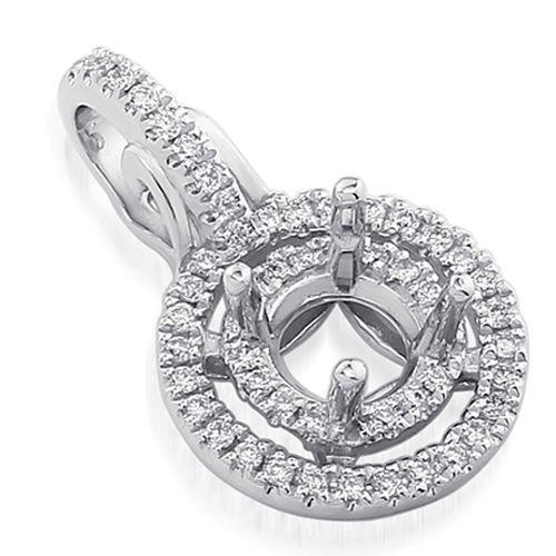 Belgium diamonds 18k white gold double halo diamond pendant belgium diamonds 18k white gold double halo diamond pendant setting httpbelgiumdiamonds mozeypictures Choice Image