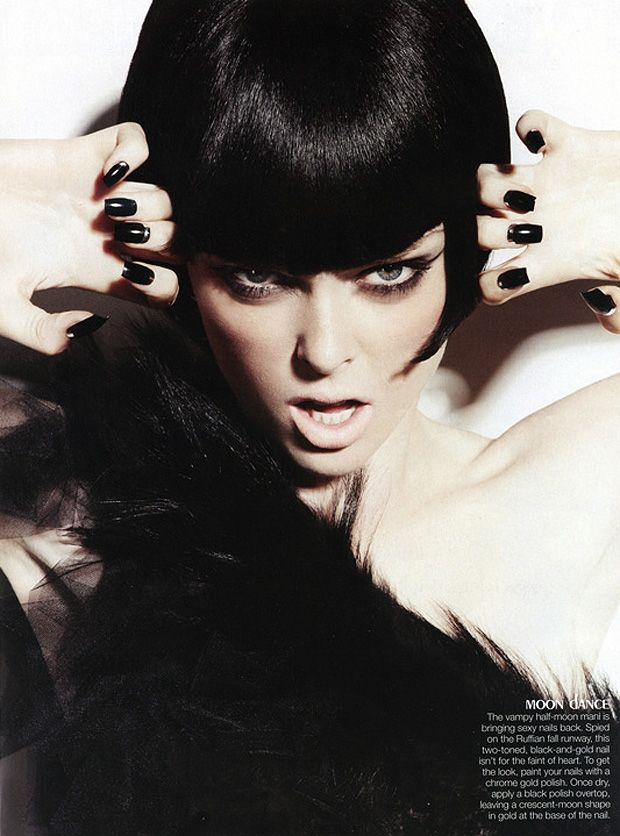 'Dark Angel'  Model: Coco Rocha  Photographer: Ishi