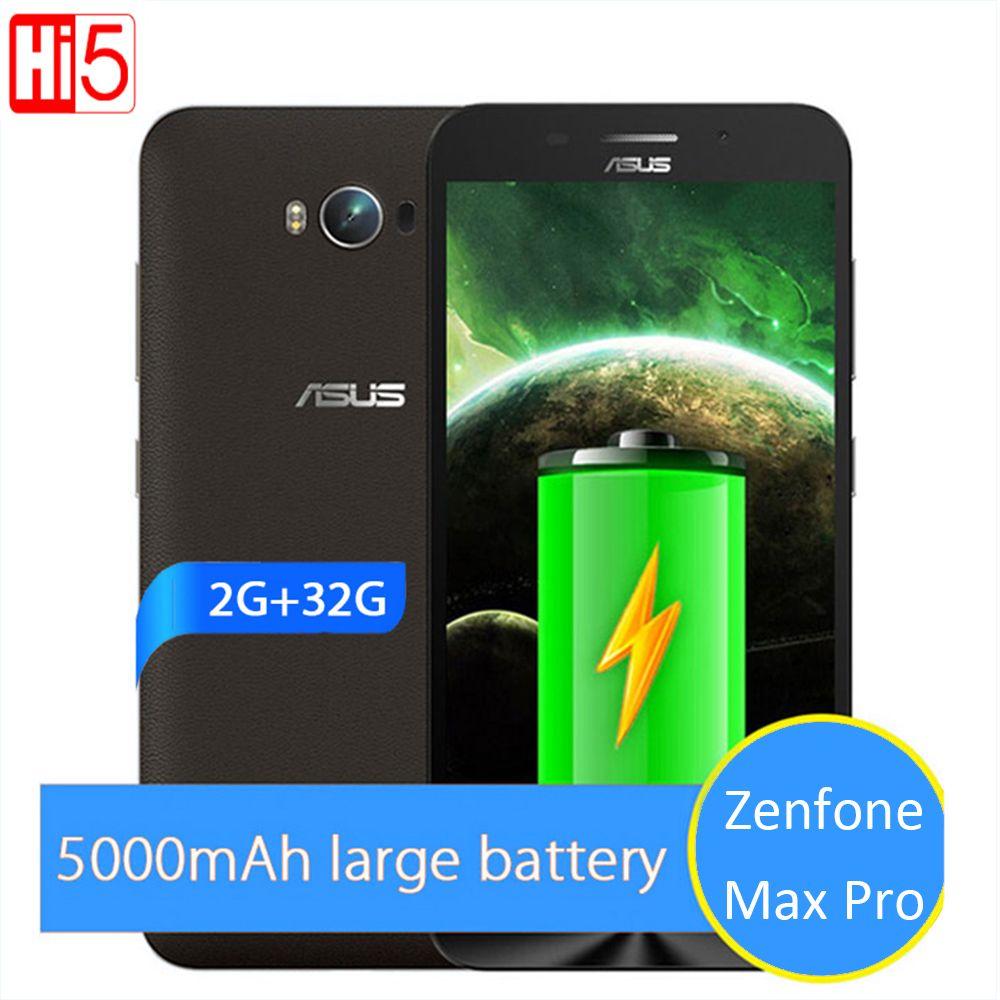 New Original Font B Asus B Font Zenfone Max Pro 5000mah Battery 2gb 32gb 4g Lte 5 5 Snapdragon Msm8916 Quad Core Font B Smar Asus Zenfone Asus 4g Lte