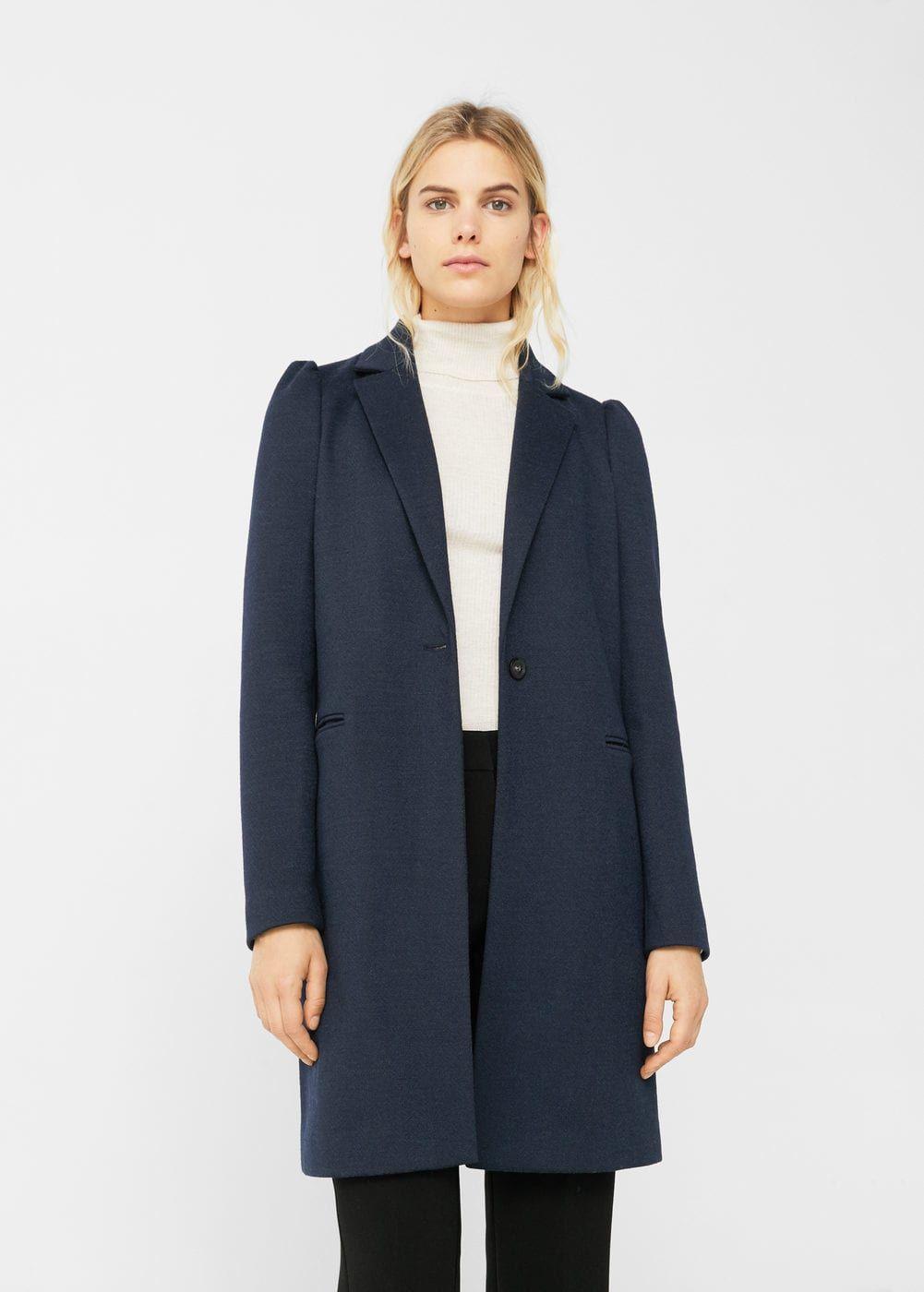 Abrigo manga abullonada - Mujer  7f44f6528204