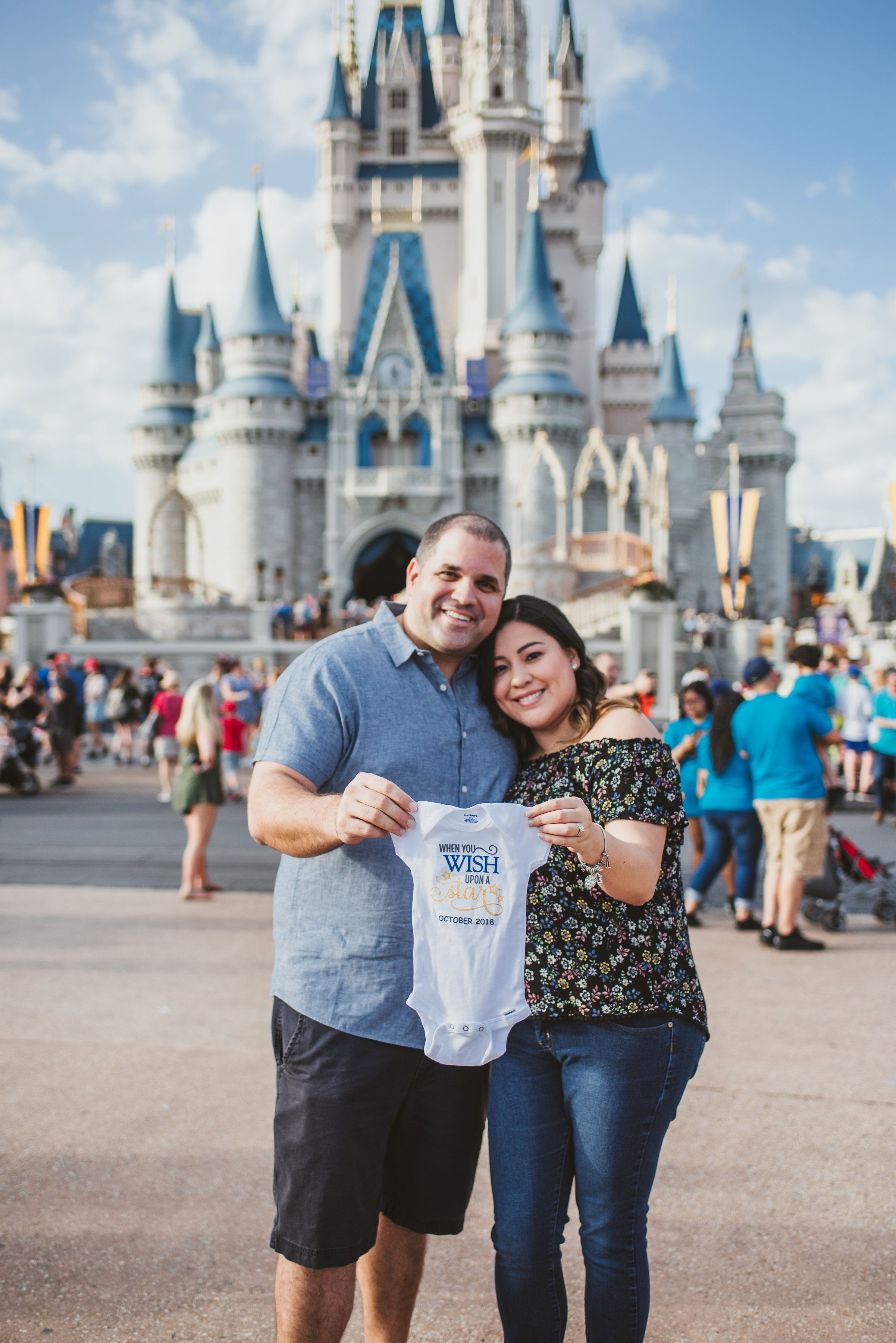 A Dream Is A Wish Your Heart Makes Disney Baby Announcement