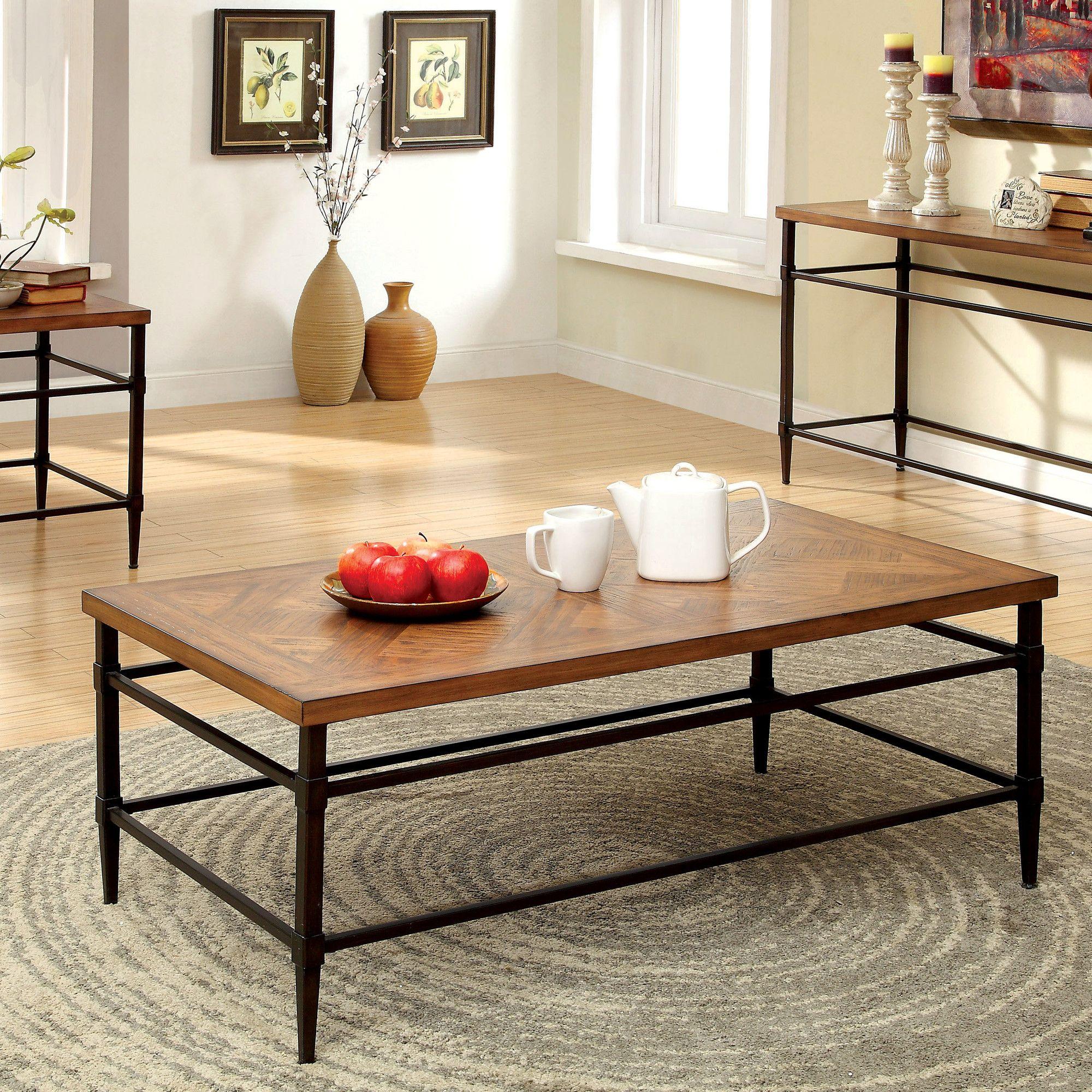 16++ Wayfair rustic coffee table sets ideas