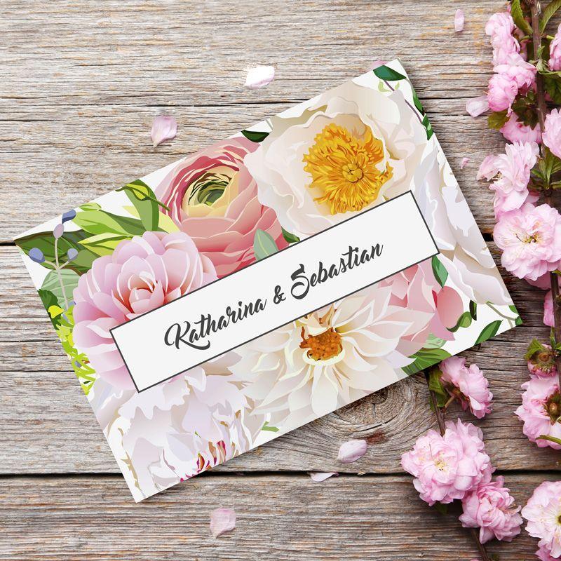 #Einladungskarte #Hochzeit Summer Love