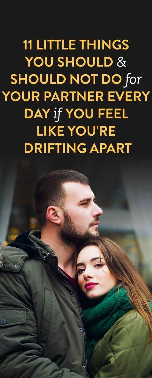 feel like my husband and i are drifting apart