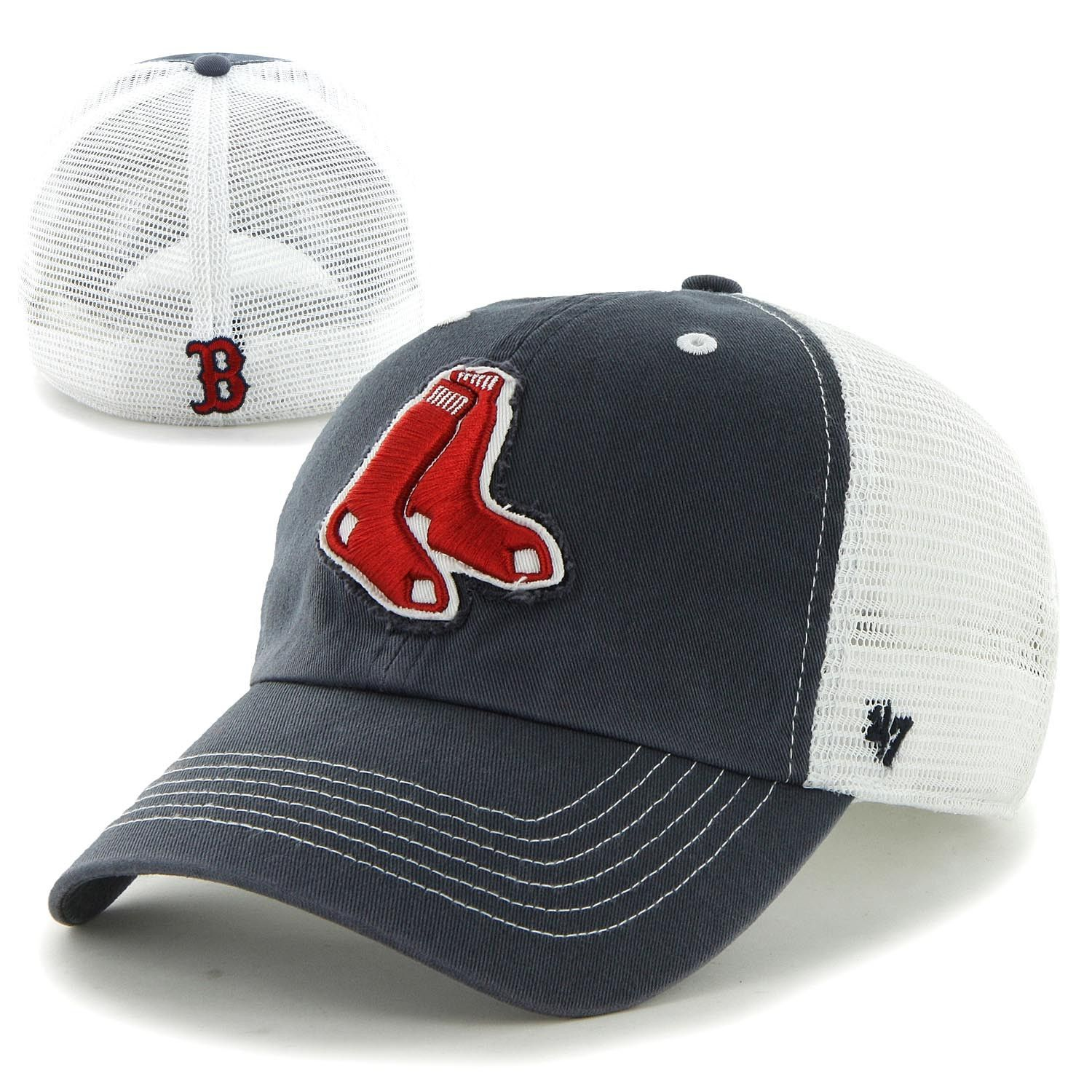 20d49c4aeab52 47 Franchise - Stretch Fit - Blue Mountain - Navy - 2 Sox Red Sox Hat