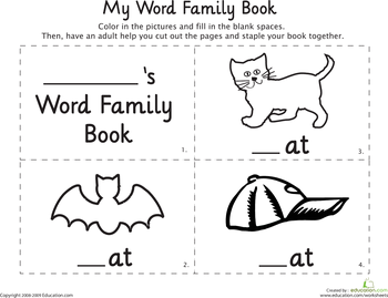Printables At Words Worksheet 1000 images about at ate words on pinterest short a word families and sorts