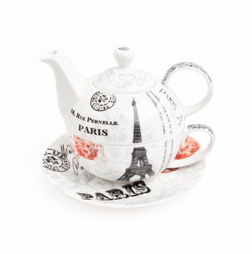 Paris Teapot