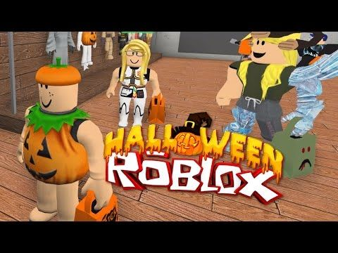 Roblox Halloween Trick Or Treating In Hallowsville Radiojh Games