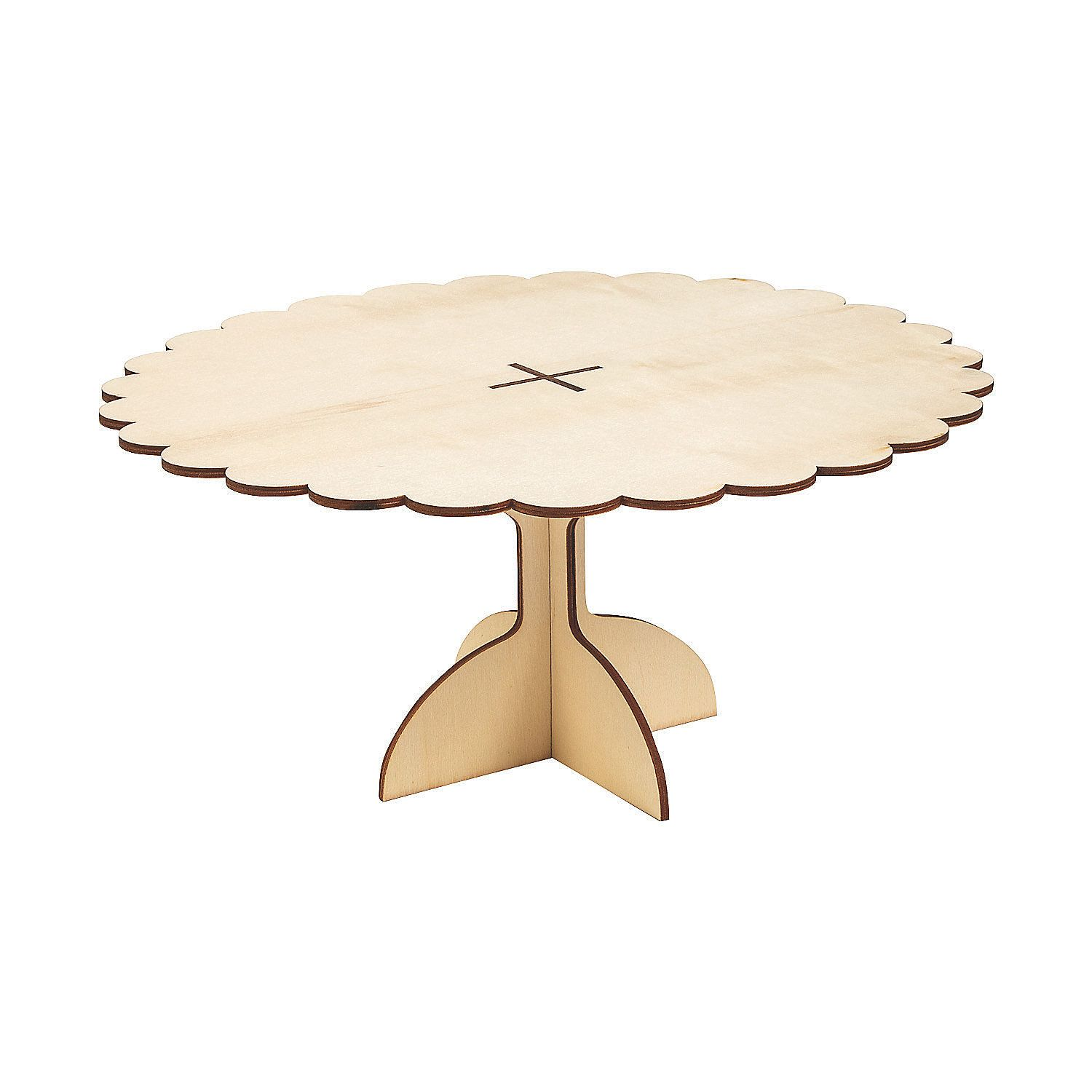 Diy Unfinished Wood Cake Stand Orientaltrading Com Wood Cake