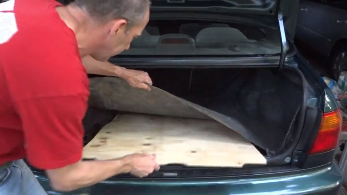 How To Make A New Spare Tire Cover Trunk Board Spare Tire Covers