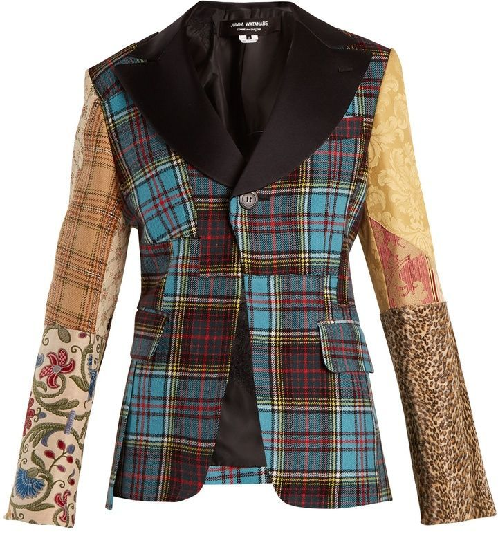 Image result for junya watanabe contrast plaid