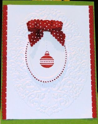 Holiday Frame embossing folder paired with Designer Frames embossing ...