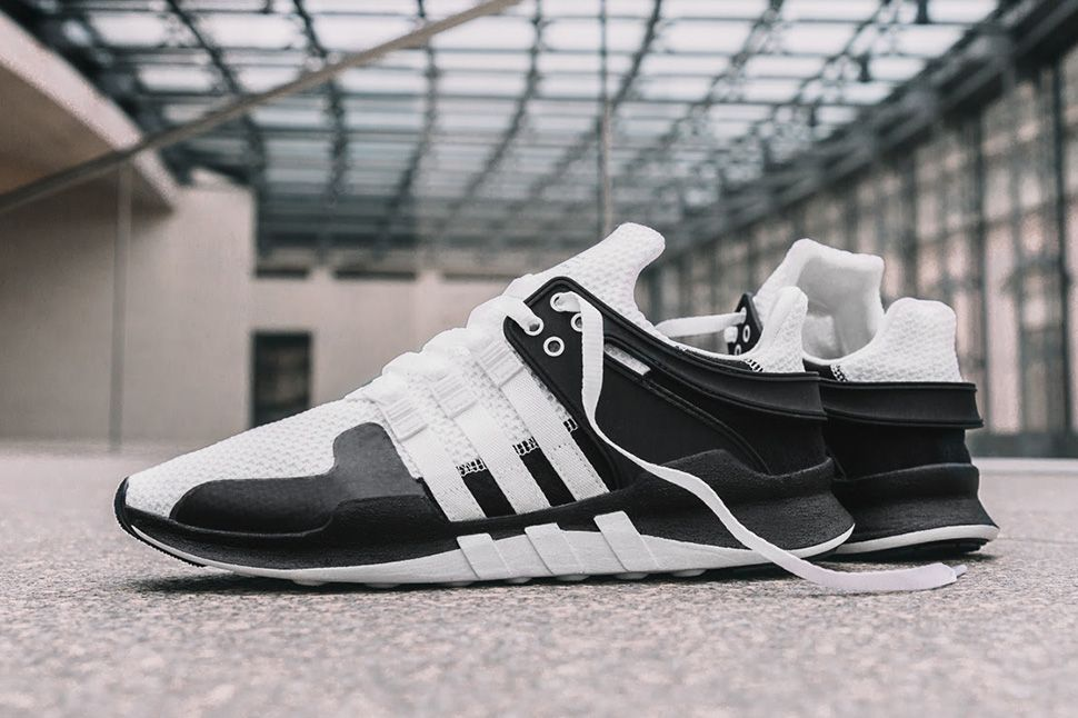 this black white adidas eqt support adv 91 16 is ultra. Black Bedroom Furniture Sets. Home Design Ideas