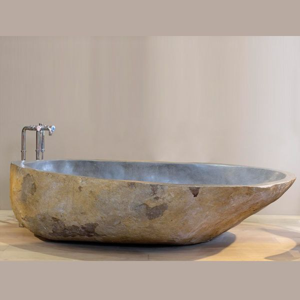 20 Bathroom Designs With Stunning Stone Tubs