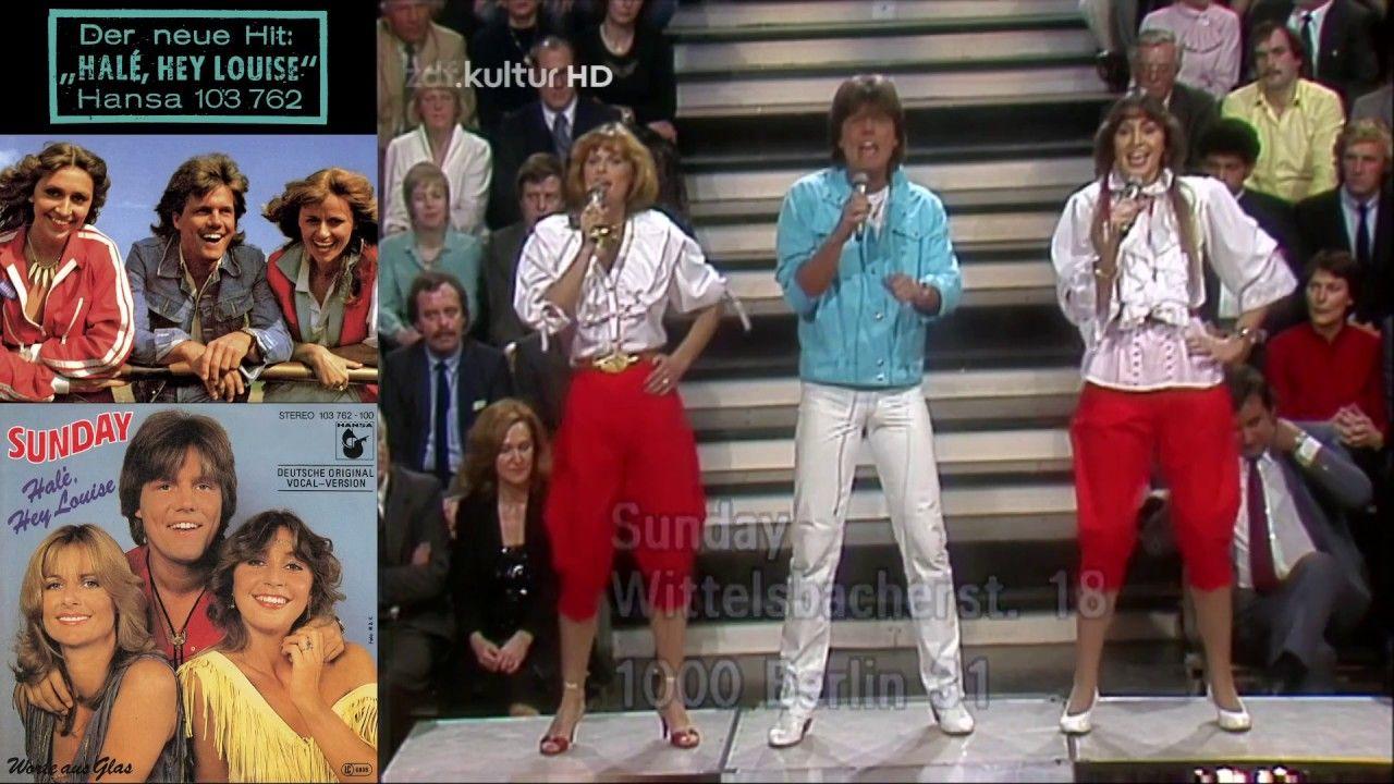 Sunday (Dieter Bohlen) - Jung und frei (ZDF 1981) [в зале ...