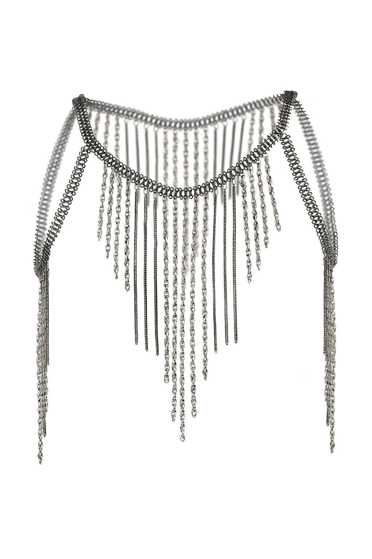 9477c595f70c7f Mega Cape Body Chain | Body Jewelry Inspa | Jewelry, Bag accessories ...