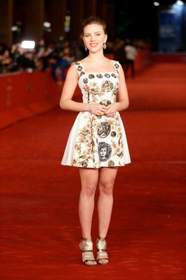 Fabulously Spotted: Scarlet Johansson Wearing Dolce & Gabbana - 'Her' 8th Rome Film Festival Premiere - http://www.becauseiamfabulous.com/2013/11/scarlet-johansson-wearing-dolce-gabbana-her-8th-rome-film-festival-premiere/