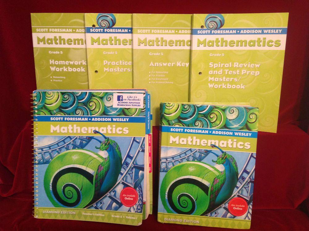Scott Foresman Math Grade 5 Answers Workbook